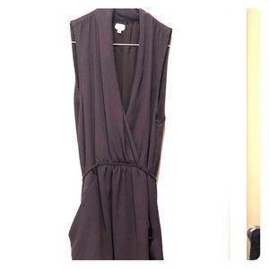 Timeless silk Wilfred knee length dress